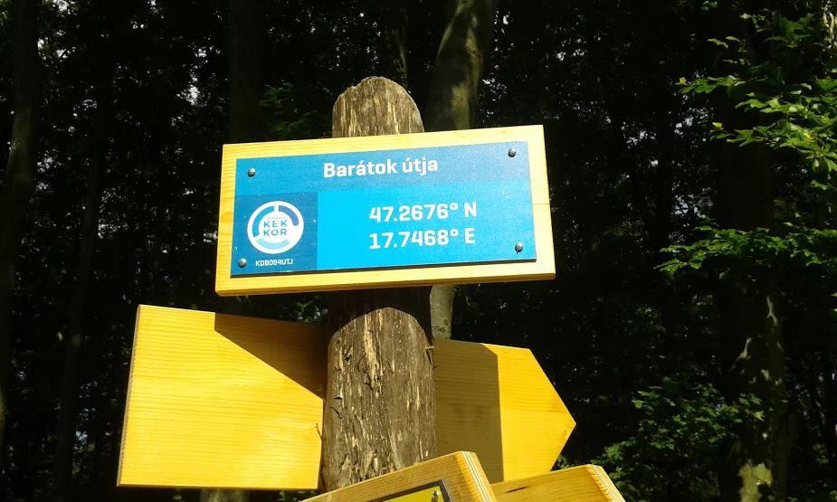 2016 5. nap útleírás: Bakonybél-Bakonyszentlászló, lejárók: A Báló fivérek